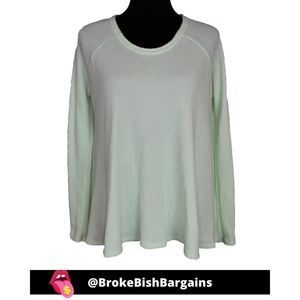 We The Free Mint Trapeze Thermal Ming Size M